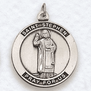 St. Stephen , Patron Of Contractors - Click to enlarge