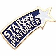 Star Performer Pins - Click to enlarge