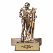 Star Series - Star Series Resin Trophies - Football - Click to enlarge