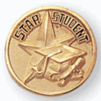 Star Student Pin (BR Series) - Click to enlarge