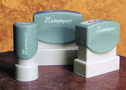 Stock Rubber Stamps - Click to enlarge