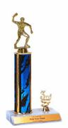 Trophies With Place Trim (1st, 2nd, or 3rd) - Table Tennis - Click to enlarge