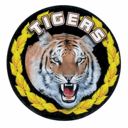Tigers Medal Mascot Medal Insert - Click to enlarge