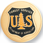 United States Forest Service Medal Insert - Click to enlarge