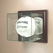 Volleyball Display Case (Glass, Wall-Mounted) - Click to enlarge