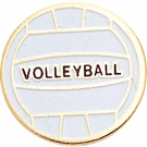 Volleyball Lapel Pins - Click to enlarge