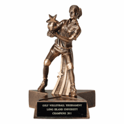 Volleyball - Star Series Resin Trophies (Female) - Click to enlarge