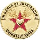 Outstanding Volunteer Pins - Click to enlarge