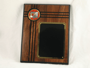 Walnut Wood Plaque - Basketball - Click to enlarge