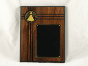 In Honor Of Excellence Walnut Wood Plaque - Click to enlarge