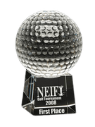 Westminster Crystal Golf Awards (3 Sizes) - Click to enlarge