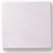 White Card Board Medal Box - Cotton Filled - Click to enlarge