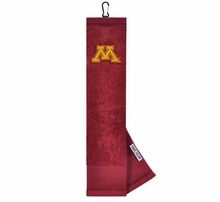 Collegiate Embroidered Tri-Fold Golf Towels