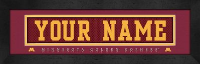 Minnesota Golden Gophers Personalized Gifts