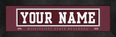 Mississippi State Bulldogs Personalized Gifts