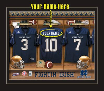 Notre Dame Fighting Irish Personalized Gifts