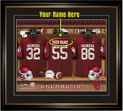 Oklahoma Sooners Personalized Gifts
