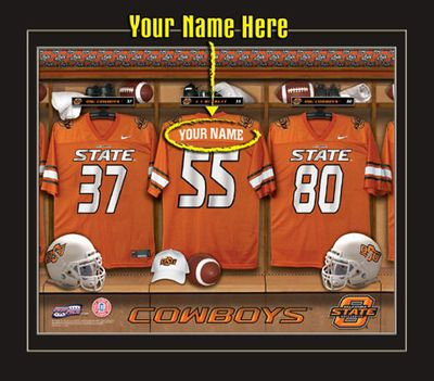Oklahoma State Cowboys Personalized Gifts