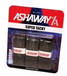 Ashaway Super Tacky Grip, Assorted Colors, 3-pack