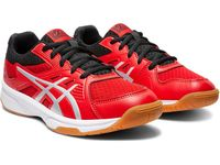Asics Upcourt 3 GS Junior Shoes, Classic Red / Pure Silver