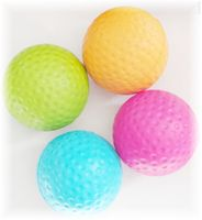 Beginner Foam Squash Ball, 1-pack