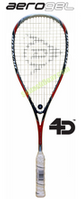 Dunlop Aerogel 4D Evolution 120 Squash Racquet, no cover