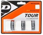 Dunlop Biomimetic Overgrip, White, 3-pack