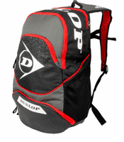 Dunlop Performance Backpack, Gray/Black/Red