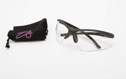 Eye Rackets Goggles, Small size, Purple Logo