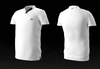 Eye rackets Performance Line V-Neck Shirt, White / Black Trim