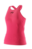 Eye Rackets Performance Line Women's Racerback Tank, Pink / Black Trim