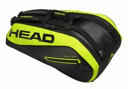 Head Extreme Supercombi 9-Racket Bag, Black / Neon Yellow