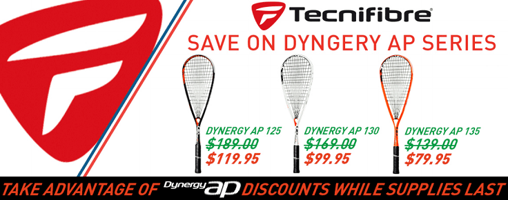 dynergy rackets on sale