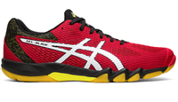 HURRY, get your pair - ASICS Gel-Blade 7 Indoor Court Shoes, Red / White
