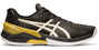 Asics Men's Sky Elite FF Court Shoes, Black / White