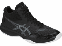 Asics Netburner Ballistic FF MT Court Shoes, Black