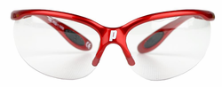 back in stock - Prince Pro Lite Goggles, Red