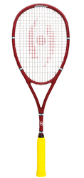 NEW - Harrow Bancroft Players Special Squash DOUBLES Racquet, Red