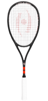 NEW - Harrow M-140 Squash Doubles Racquet, Black / Red