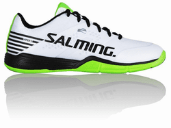 new - Salming Viper 5 Unisex Court Shoes, White / Black