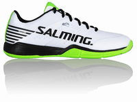 Salming Viper 5 Unisex Court Shoes, White / Black
