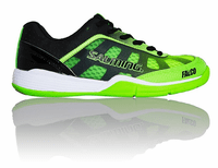 new - Salming Falco Junior Court Shoes, Green / Black