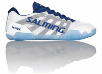 Salming Hawk Unisex / Women's Court Shoes, White / Navy