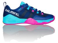 Salming Kobra 2 Women's / Unisex Court Shoes, Limoges Blue / Pink