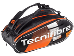 SAVE $30 today - Tecnifibre Air Endurance 12-Racket Bag, Black / Orange
