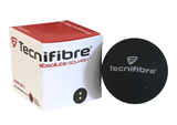 Tecnifibre Double Yellow Dot Squash Ball, 1-pack