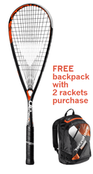 FREE Tecnifibre Air Endurance Backpack with 2 rackets - Tecnifibre Dynergy AP 125 Racquet with Premium Strings