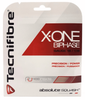 Tecnifibre X-One Biphase 18g Squash String, Red, SET