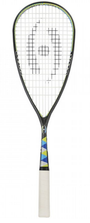Harrow Silk Squash Racquet, Black / Blue / Lime