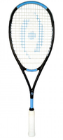 Harrow Stealth Ultralite Squash Racquet, Black / Carolina